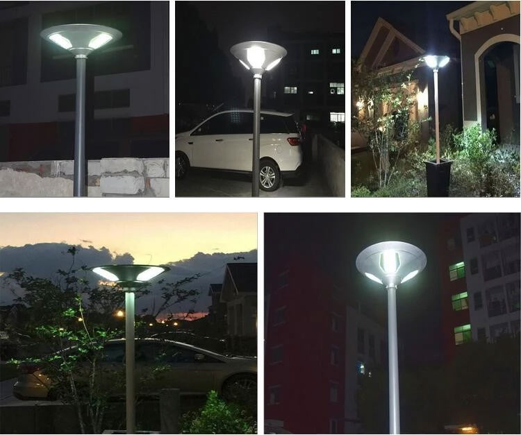 Solar Courtyard Light Projects